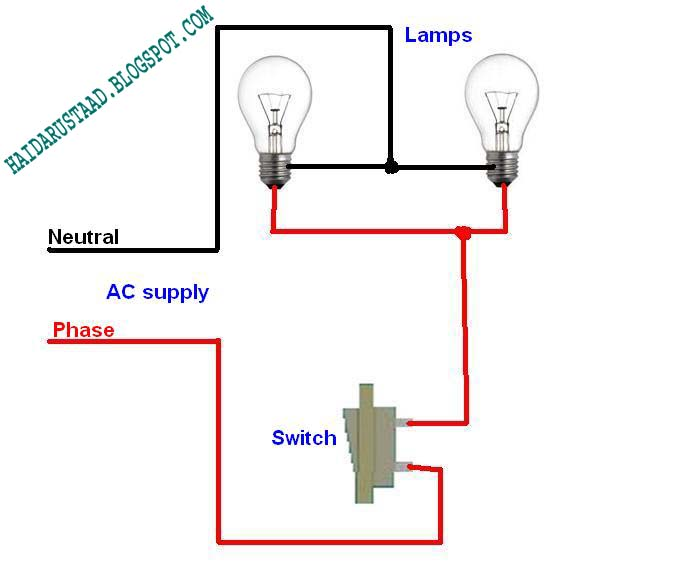 Wiring Diagram One Switch Two Lights 2002 Dodge 2 0l Engine