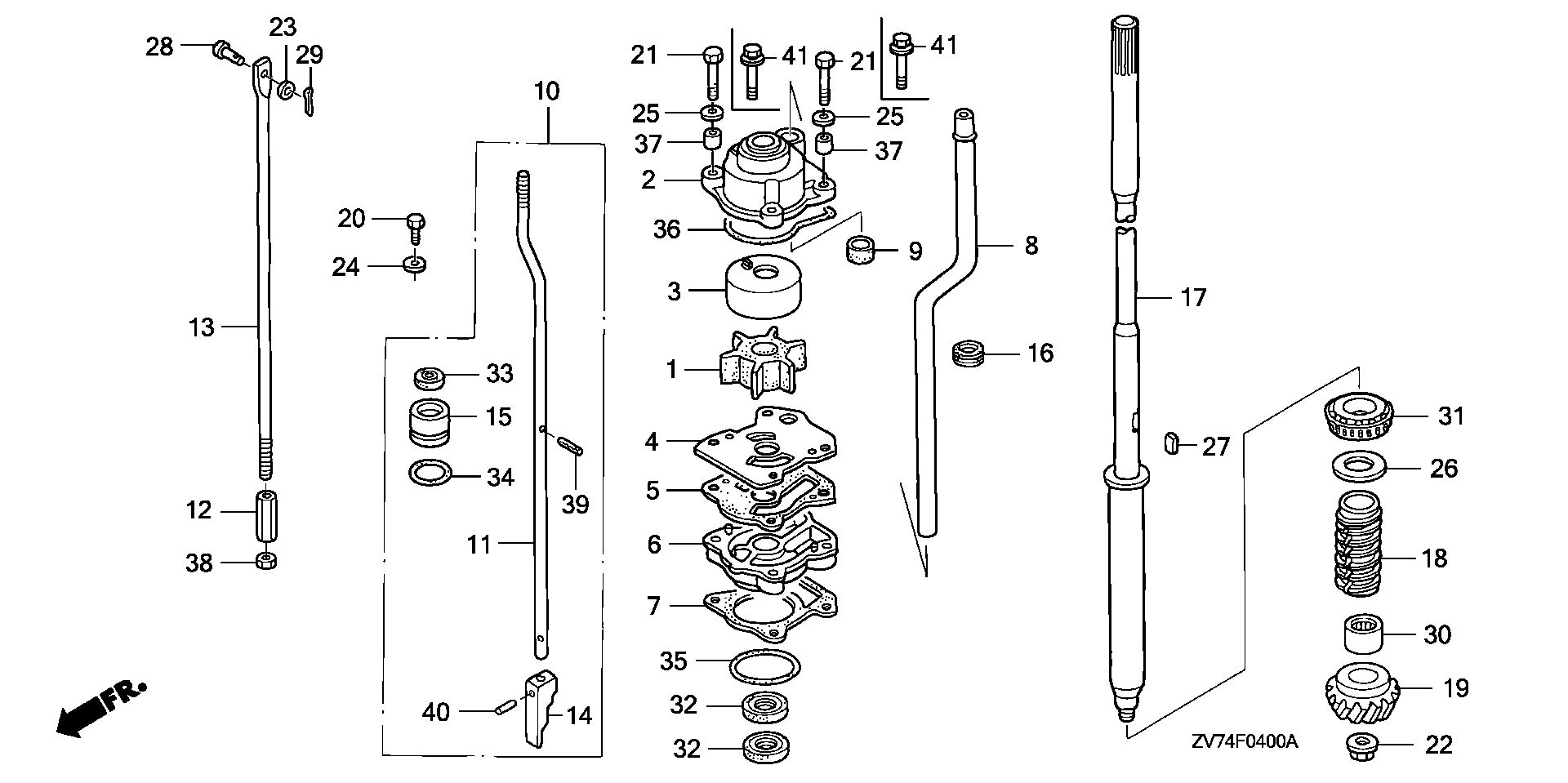 60 Hp Mercury Outboard Parts Diagram