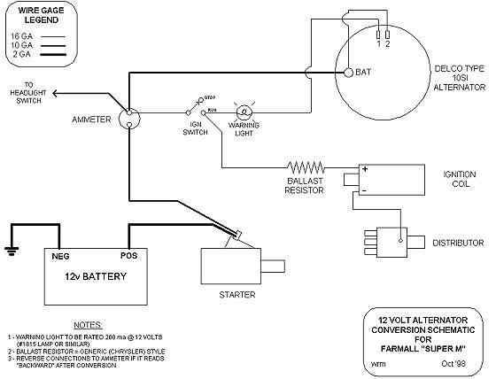 Swell Yesterdays Tractors Step By Step 12 Volt Conversion Wiring Cloud Itislusmarecoveryedborg