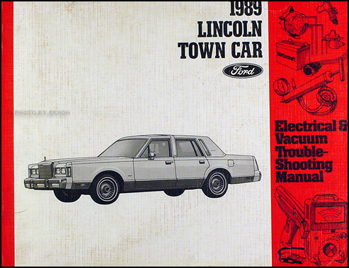 1996 Lincoln Town Car Electrical and Vacuum Troubleshooting Manual 96 Original