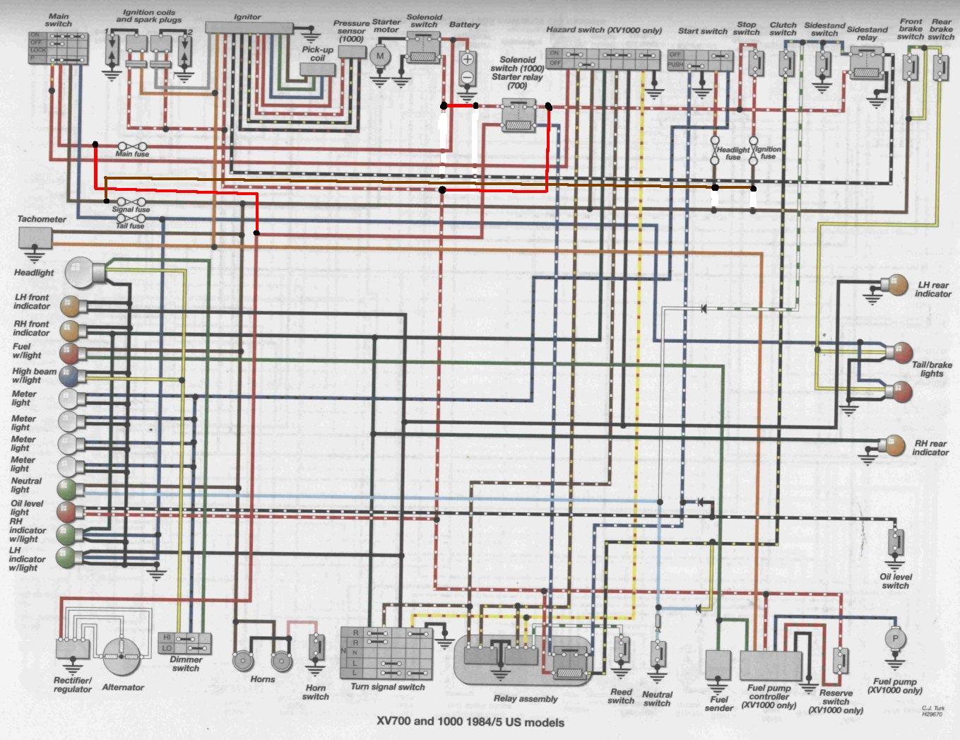 [SCHEMATICS_48EU]  1986 Virago Wiring Harness - Ds650 Wiring Diagram for Wiring Diagram  Schematics   Virago 920 Wiring Diagram      Wiring Diagram Schematics
