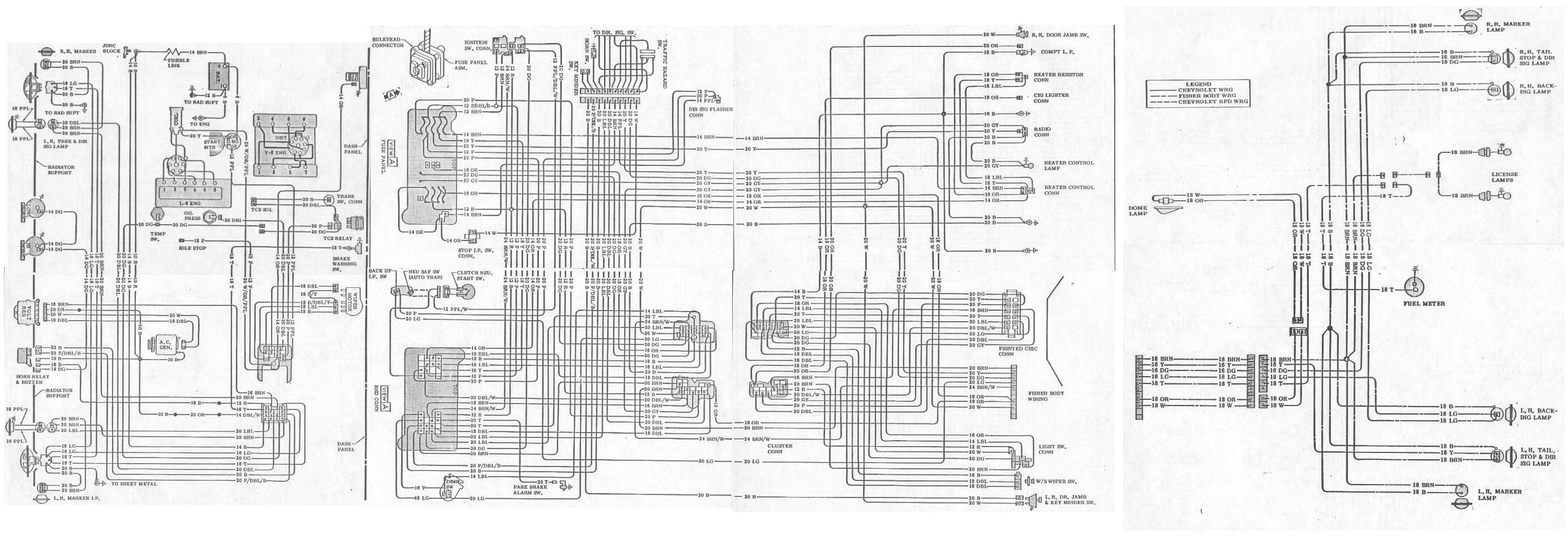 1979 Firebird Wiring Diagram