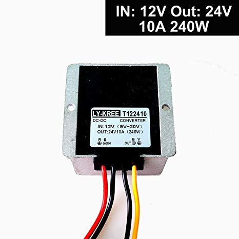 5V 5A 25W to 5V 5A 25W Step-Down Voltage Transformer Volt Regulator Power Supply Inverter Module Waterproof 8-40V KNACRO DC-DC Buck Converter 12V 24V