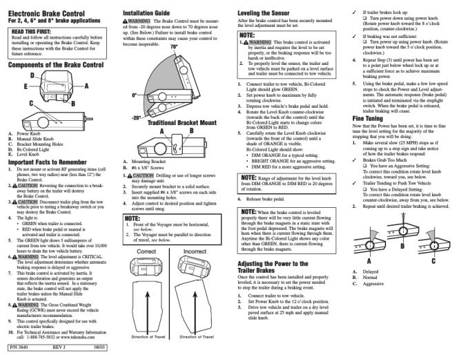 tekonsha prodigy 2 wiring diagram