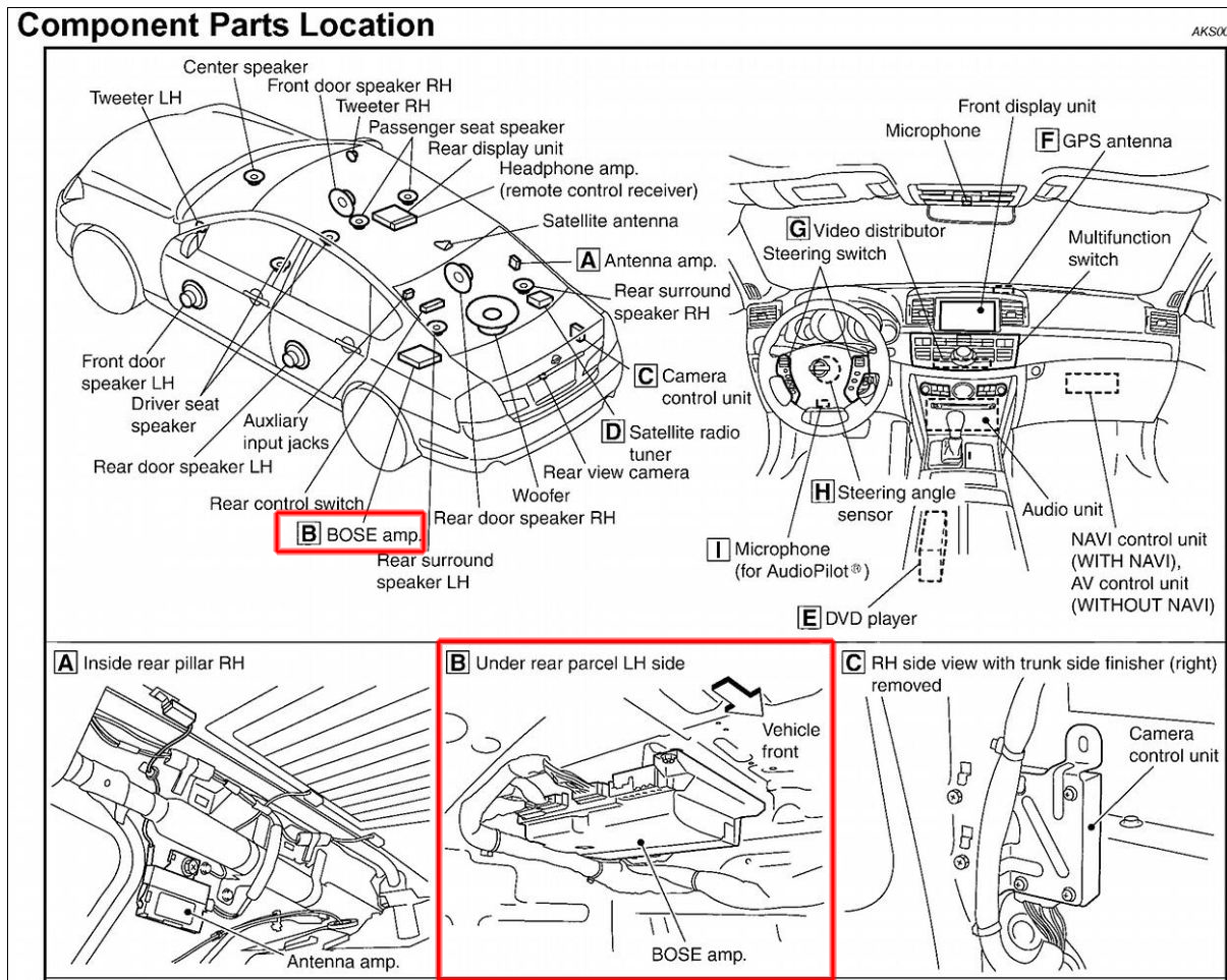 [DIAGRAM_09CH]  OB_7780] Infiniti Bose Amp Wiring Diagrams | Infiniti Bose Amp Wiring Diagram |  | Meric Eumqu Capem Mohammedshrine Librar Wiring 101