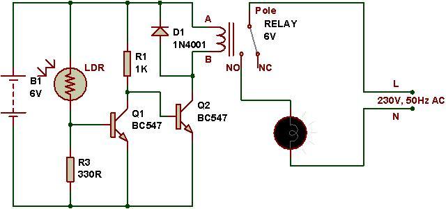 Sensational How To Use A Relay Buildcircuit Electronics Wiring Cloud Faunaidewilluminateatxorg