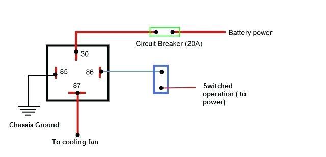 electric fan relay wiring diagram os 6975  dual fan relay dual fan relay wiring diagram wiring diagram  fan relay wiring diagram wiring diagram