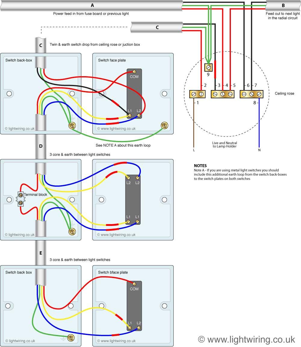 Pleasing Intermediate Switch Wiring Light Wiring Wiring Cloud Histehirlexornumapkesianilluminateatxorg