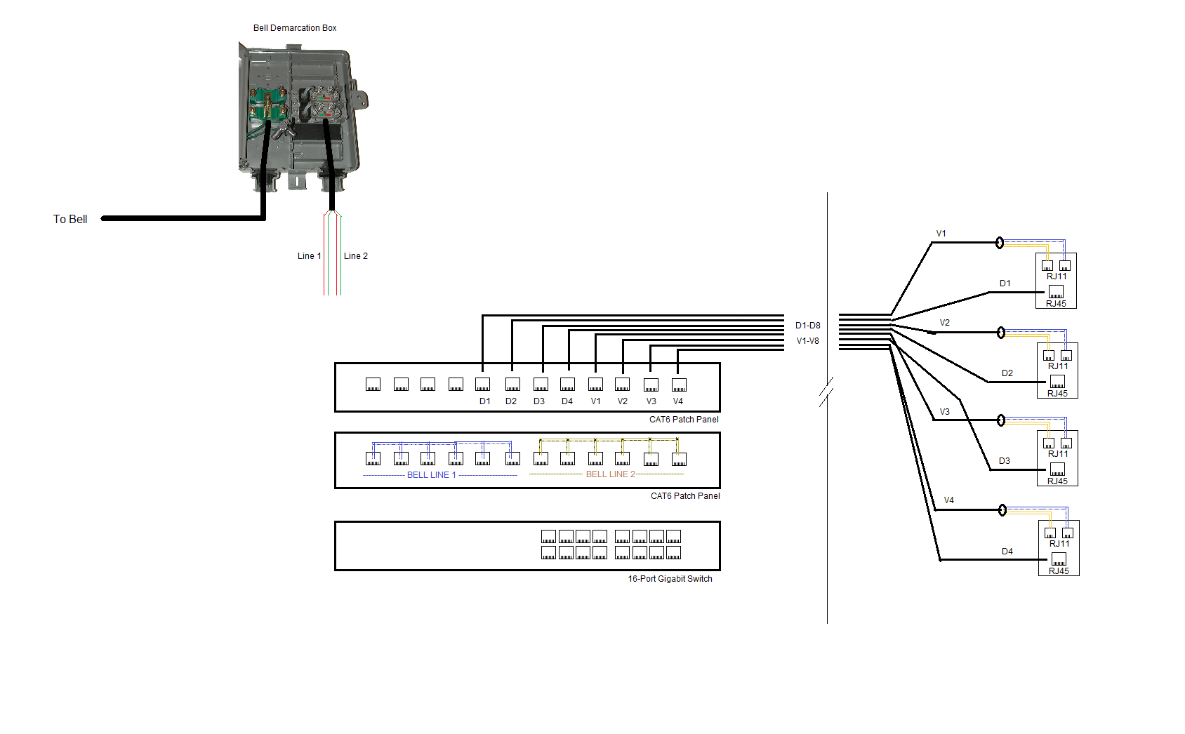 Hz 6810 Cat5e Patch Panel Wiring Diagram Free Download