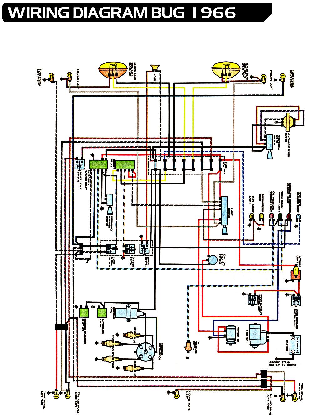 1973 Vw Super Beetle Engine Wiring Diagram - Wiring Diagram