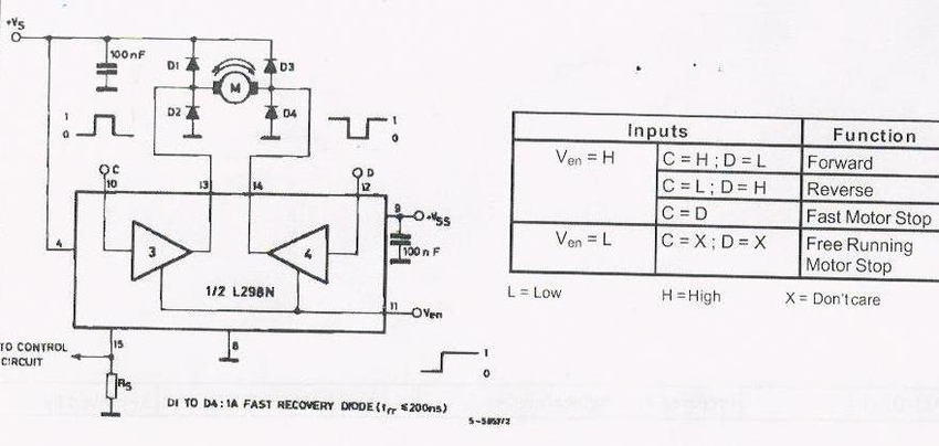 Terrific Picture Of L298 Circuit In Bidirectional Dc Motor Control Wiring Cloud Uslyletkolfr09Org