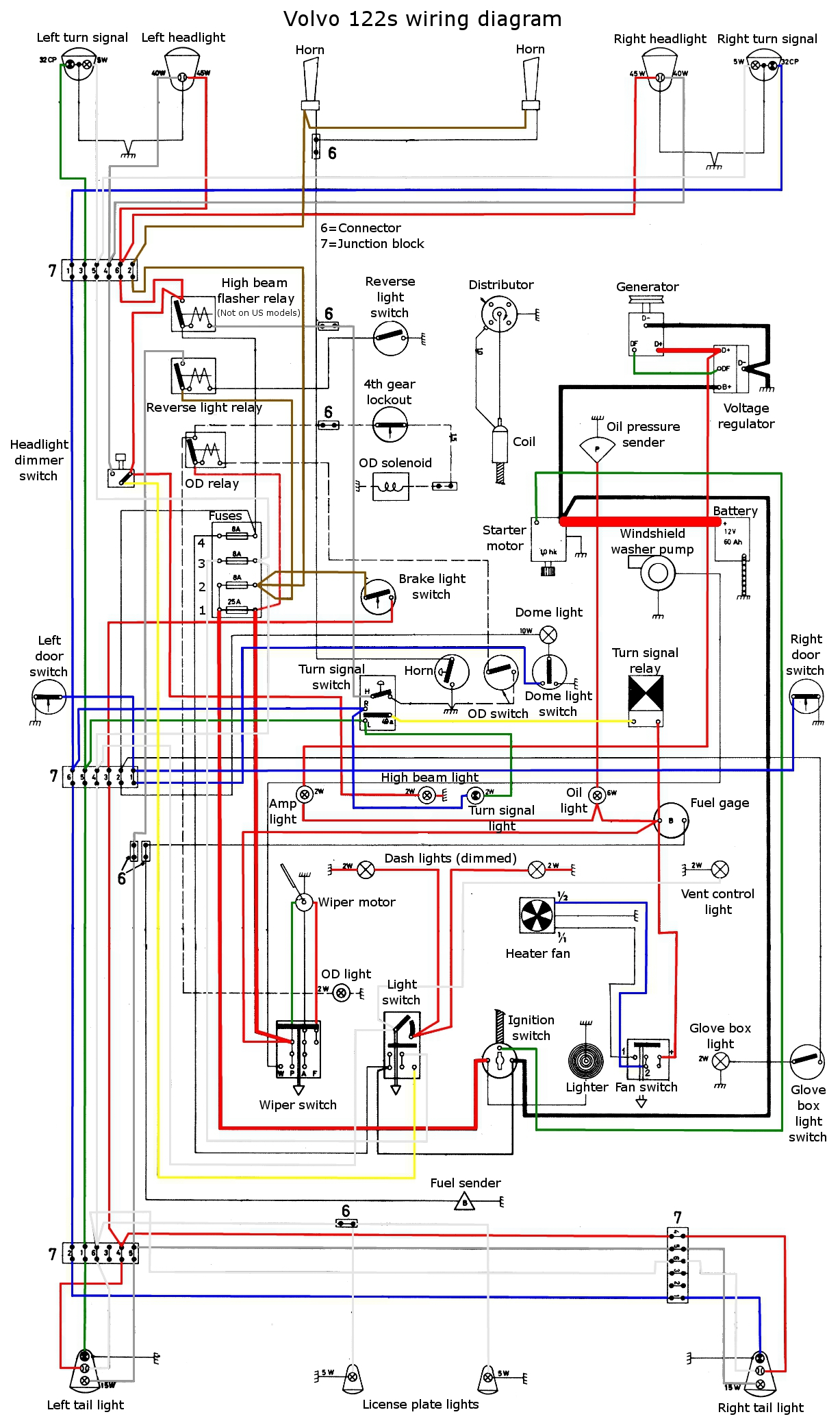 1963 ford radio wiring diagram es 1344  volvo 1800es wiring diagram schematic wiring  volvo 1800es wiring diagram schematic