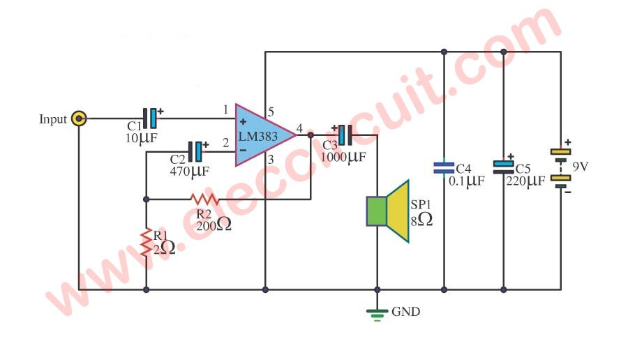 1PCS TDA7266SA TDA7266 ST 7W+7W DUAL BRIDGE AMPLIFIER