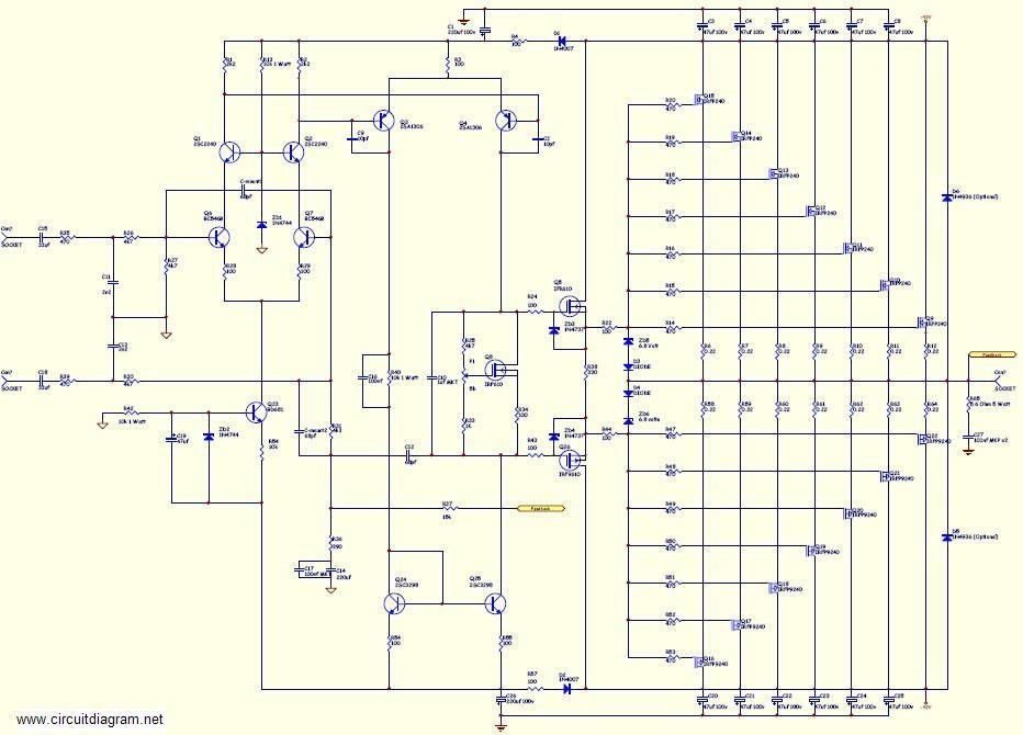 KD_2914] High Power Audio Amplifier Schematic Free DiagramAttr Dome Carn Vira Mohammedshrine Librar Wiring 101