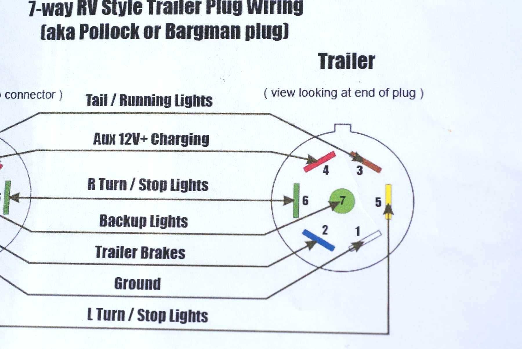 Wondrous Six Pin Trailer Plug Wiring Diagram Basic Electronics Wiring Diagram Wiring Cloud Rineaidewilluminateatxorg