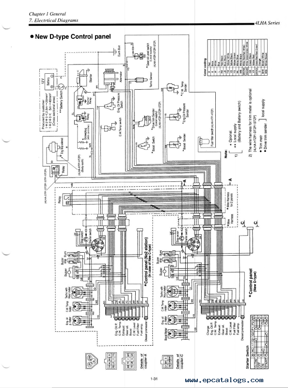 Yanmar 2gm Wiring Diagram