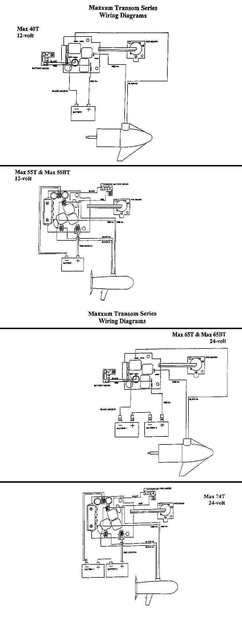 Minn Kota Power Drive V2 Wiring Diagram
