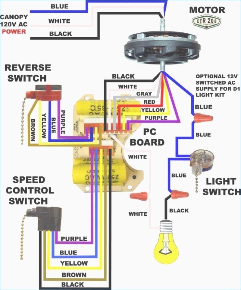 Hampton Bay Ac 552 Wiring Diagram