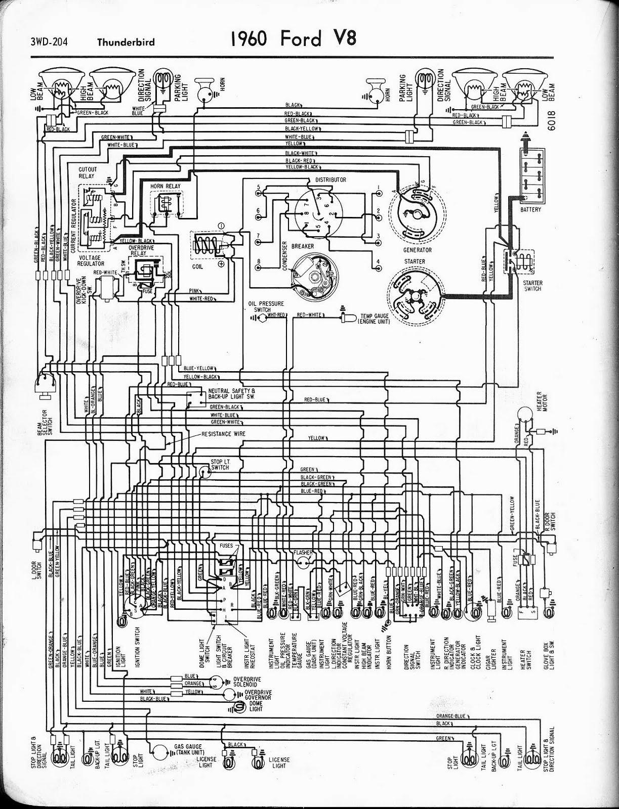 WT_2807] 1960 Thunderbird Wiring DiagramGinia Mepta Mohammedshrine Librar Wiring 101