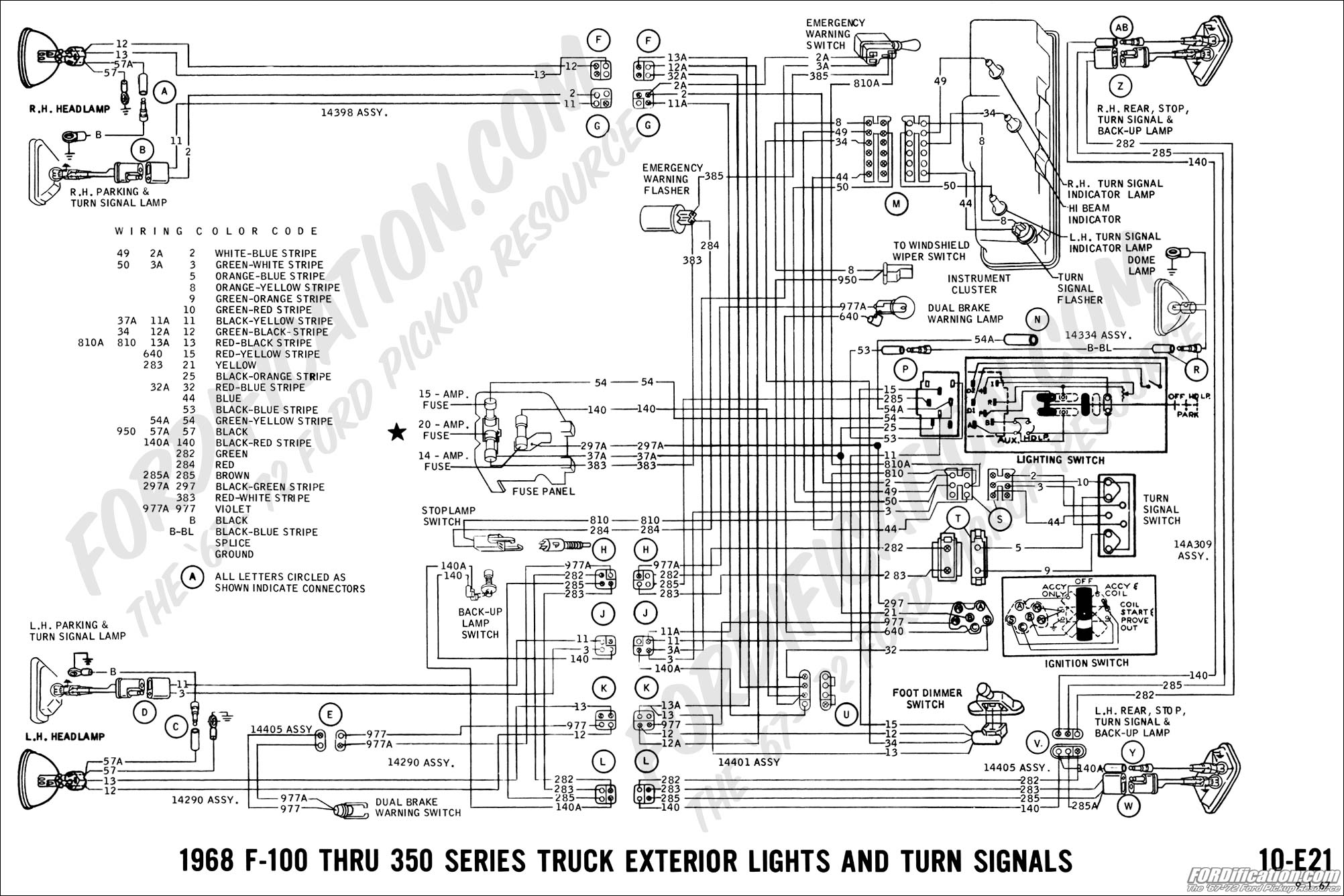 Excellent Ford Truck Technical Drawings And Schematics Section H Wiring Wiring Cloud Onicaxeromohammedshrineorg