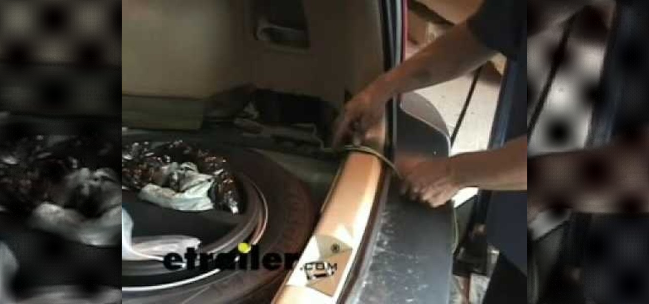 Fine How To Install A Trailer Wiring Harness On A Subaru Forester Car Wiring Cloud Vieworaidewilluminateatxorg