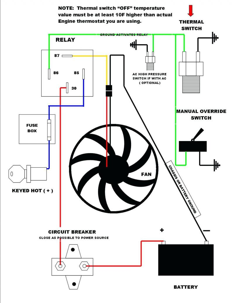 Of 2869 Nelson Performance Dual Electric Fan Relay Wiring