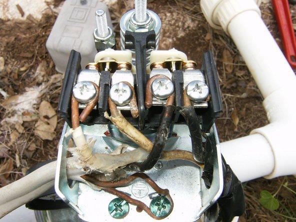 pump pressure switch wiring diagram  120 volt control relay