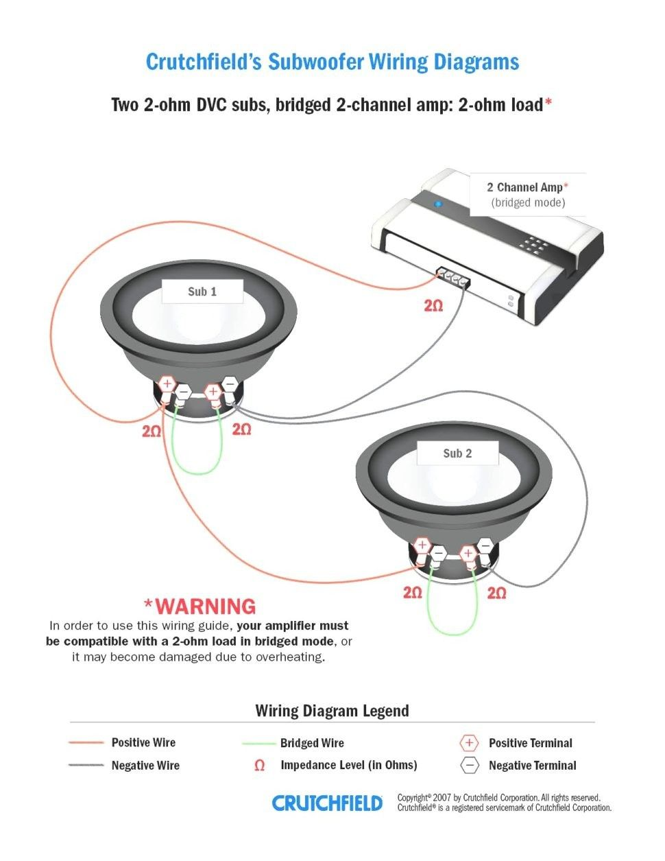 Pleasant Subwoofer Wiring Diagrams Dual Voice Coil Free Diagram For 1 Ohm Wiring Cloud Eachirenstrafr09Org