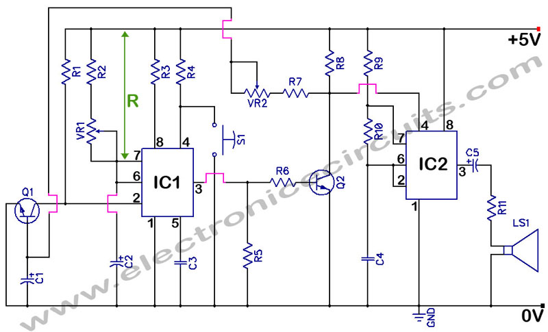 Excellent 555 Timer Circuit Page 17 Other Circuits Next Gr Wiring Cloud Licukaidewilluminateatxorg