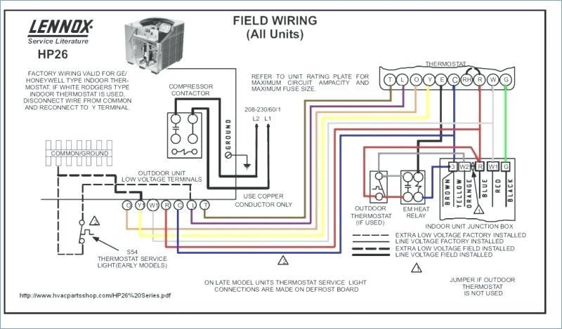 goodman furnace thermostat wiring diagram  ford wiring
