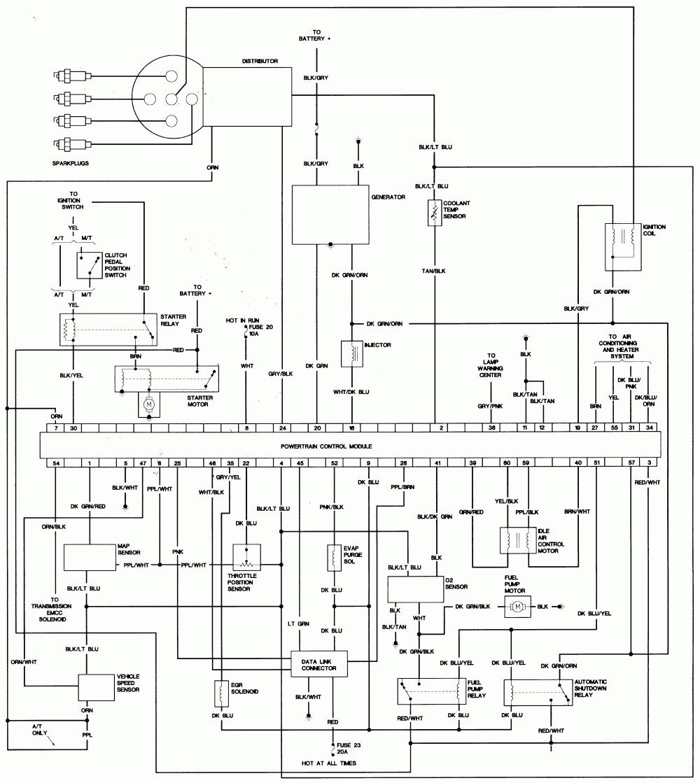 Starter Voyager Van Wiring Schematic For 40   Pioneer Deh ...