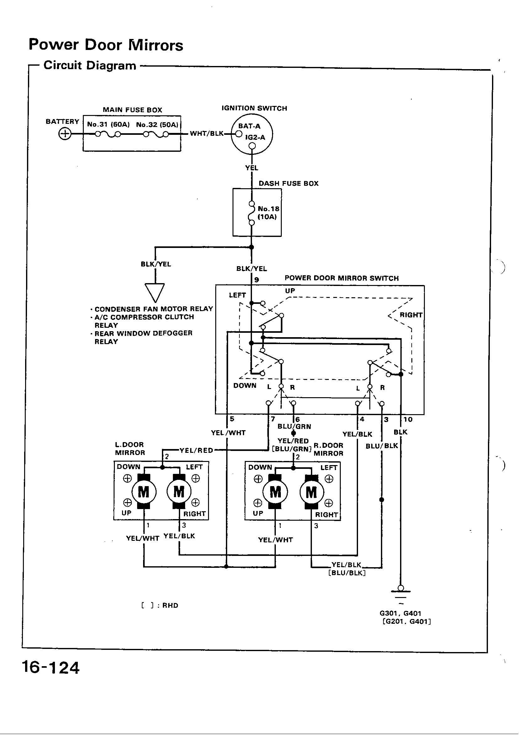 Stupendous Civic Window Motor Diagram Wiring Diagram Wiring Cloud Onicaxeromohammedshrineorg