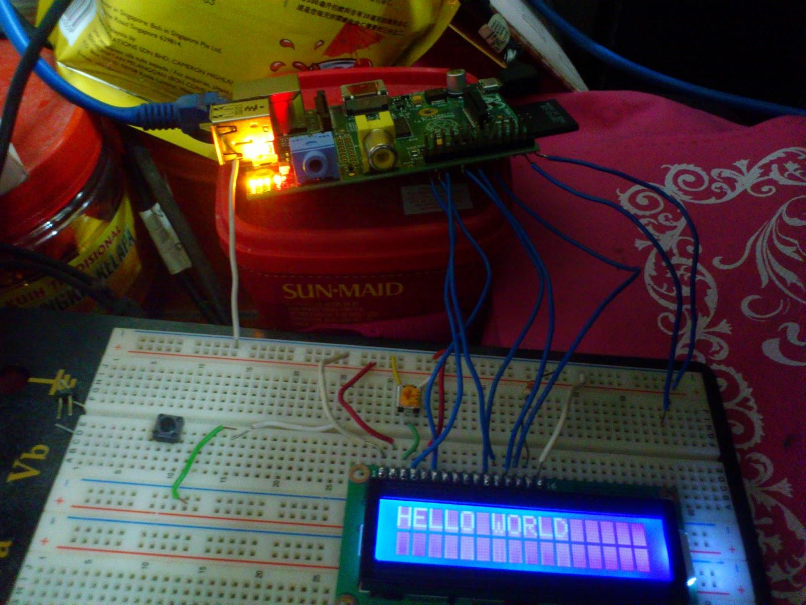 Awe Inspiring Programming Tutorial 16X2 Lcd Hello World Using C Wiringpi Wiring Cloud Filiciilluminateatxorg