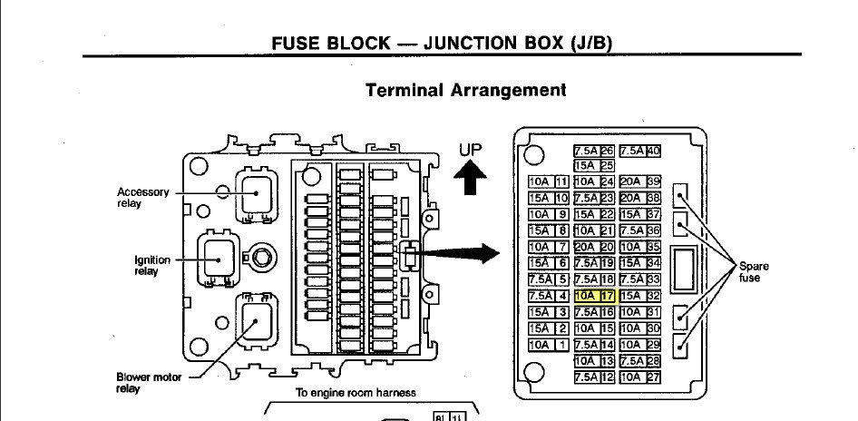 2001 Infiniti Qx4 Fuse Box - Options -Indexes for Wiring Diagram SchematicsWiring Diagram Schematics