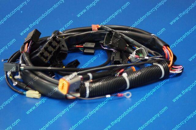Brilliant 99 Harley Davidson Softail Fxst Oem Main Engine Wiring Harness Motor Wiring Cloud Ittabisraaidewilluminateatxorg
