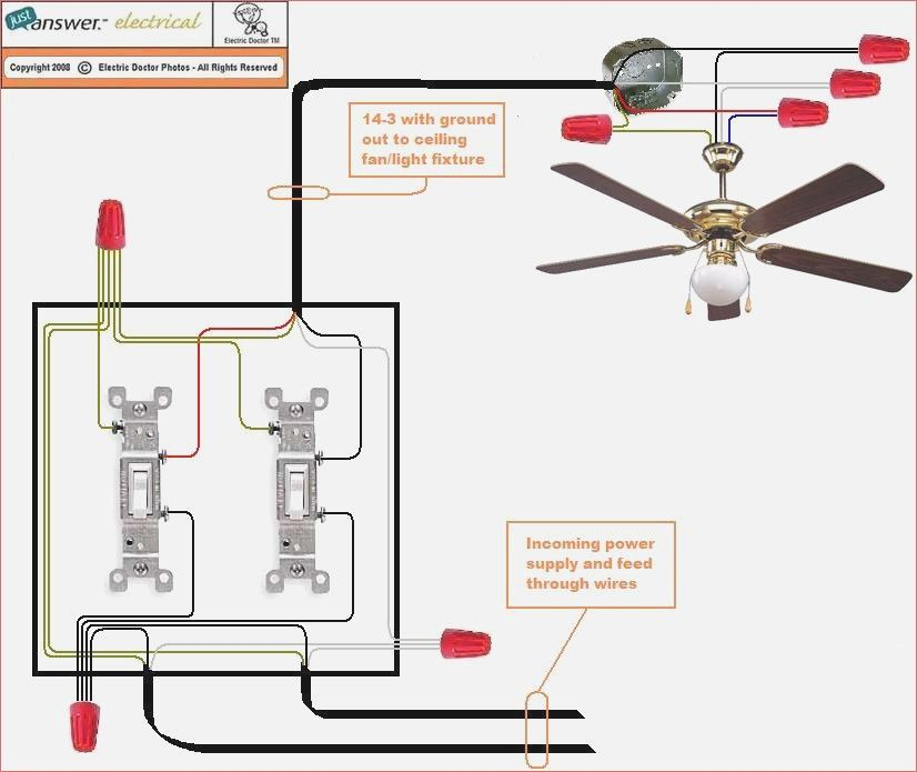wiring diagram for 3 way switch ceiling fan gs 2564  wiring ceiling fan that has 4 wires free diagram  ceiling fan that has 4 wires free diagram