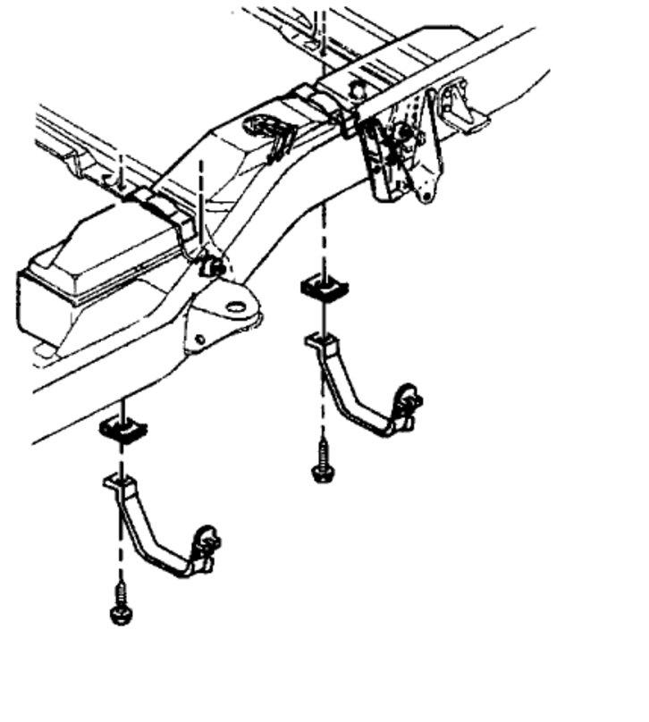 As 0523  Chevy Uplander Gas Tank Diagram Chevy 1500 Fuel