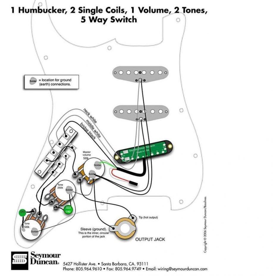 Seymour Duncan Hot Rails Wiring Diagram Telecaster - Database