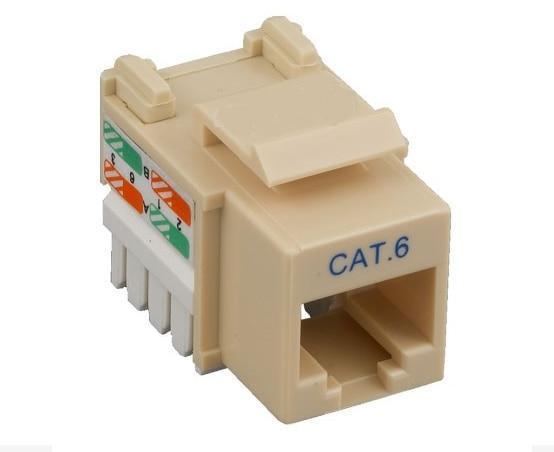 Fabulous Cat6 Keystone Jack Rj45 110 Type Punch Down Network Cables Online Wiring Cloud Hemtshollocom