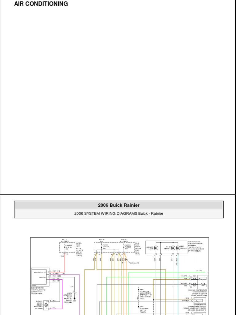 SE_2781] 2006 Buick Rainier Wiring Diagrams Wiring DiagramIcal Gram Botse Itis Viewor Mohammedshrine Librar Wiring 101