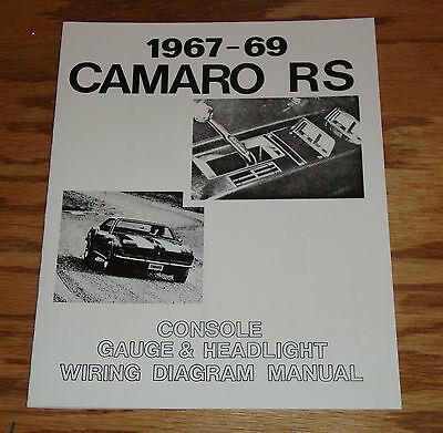 Outstanding 1967 1968 1969 Chevrolet Camaro Rs Wiring Diagram Manual 67 68 69 Wiring Cloud Uslyletkolfr09Org