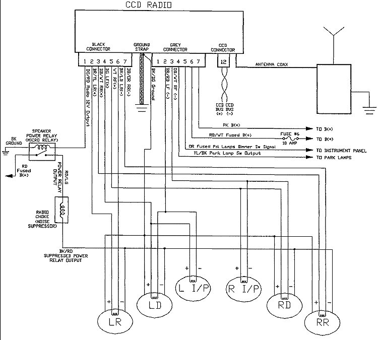 2000 Chrysler Town And Country Radio Wiring Diagram 2013 Silverado Fuse Diagram For Wiring Diagram Schematics