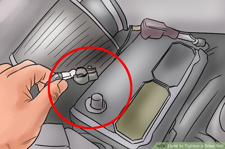 Awesome 4 Ways To Tighten A Drive Belt Wikihow Wiring Cloud Rdonaheevemohammedshrineorg