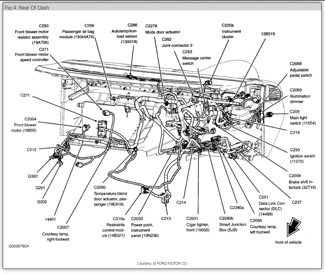 As 9471 2005 Ford Freestyle Starter Location Wiring Diagram Photos For Help Download Diagram