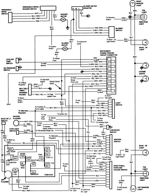 Fn 4841 1986 Ford Thunderbird Wiring Diagram Wiring Diagram