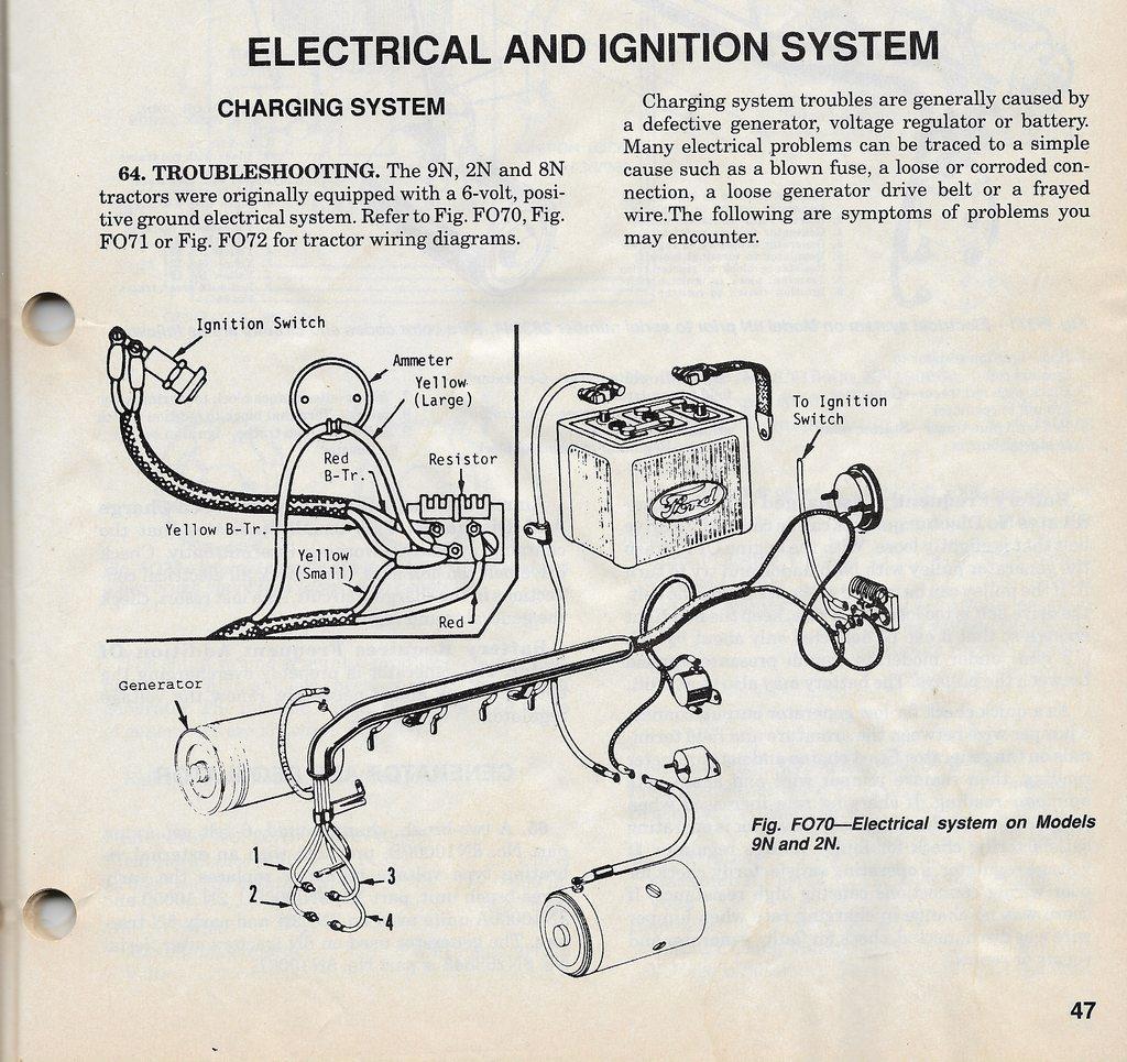 john deere tractor voltage regulator wiring diagram sv 9127  ford tractor 6 volt positive ground wiring diagram on 8n  ford tractor 6 volt positive ground