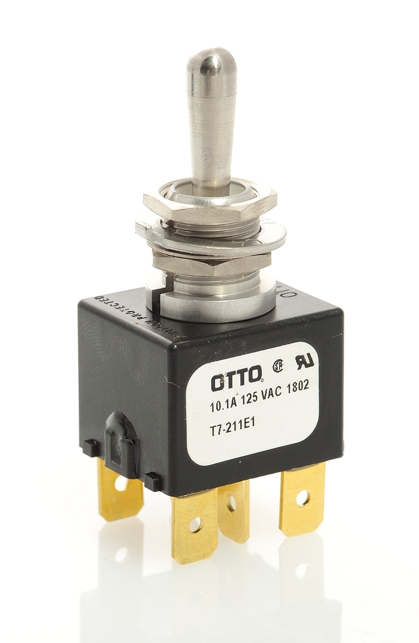 Swell Otto T7 211E1 Double Momentary Toggle Switch Spring Return To Wiring Cloud Ittabisraaidewilluminateatxorg