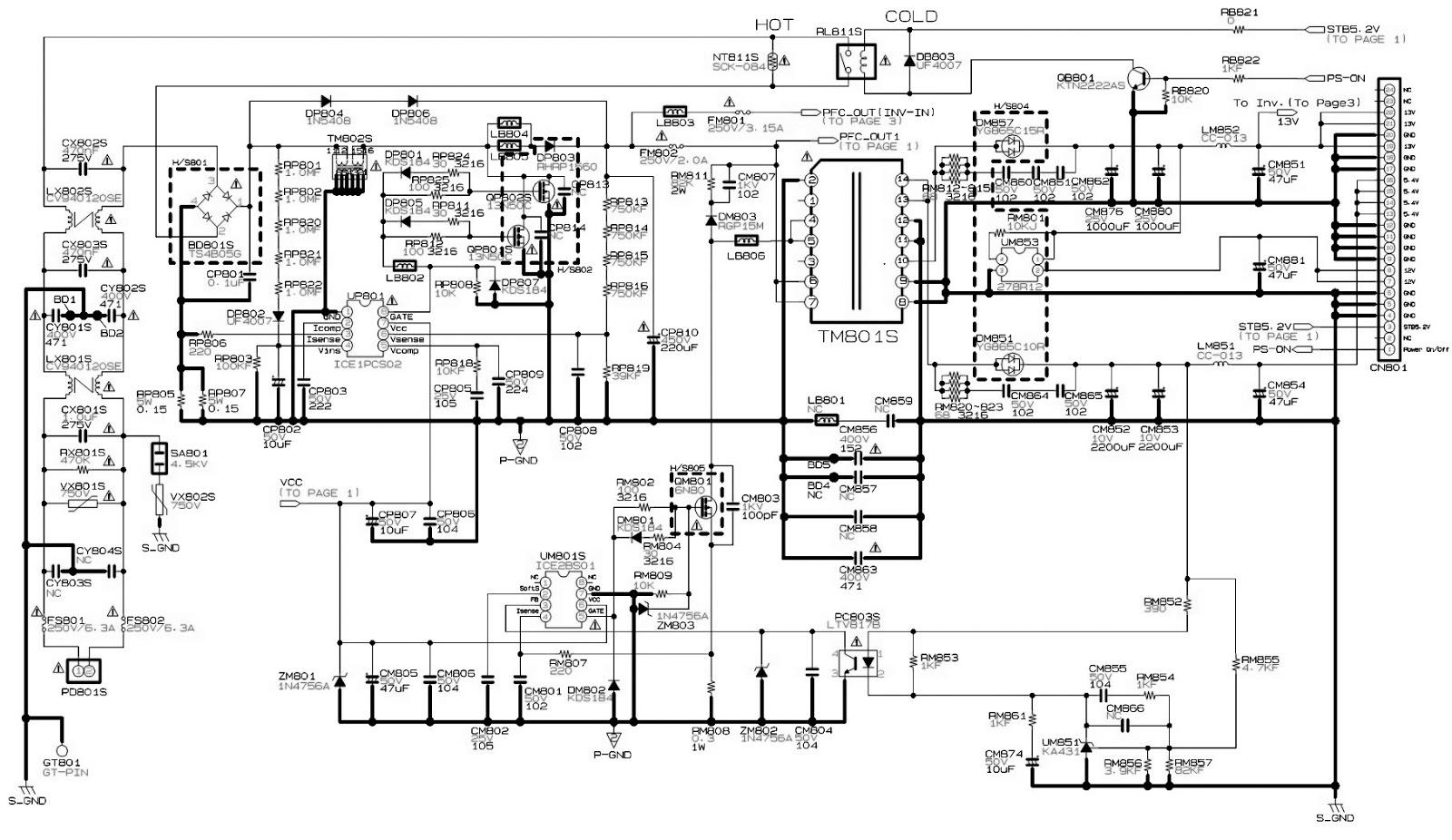 tv circuit board diagram repair gb 2479  samsung tv circuit board schematic wiring diagram  tv circuit board schematic wiring diagram