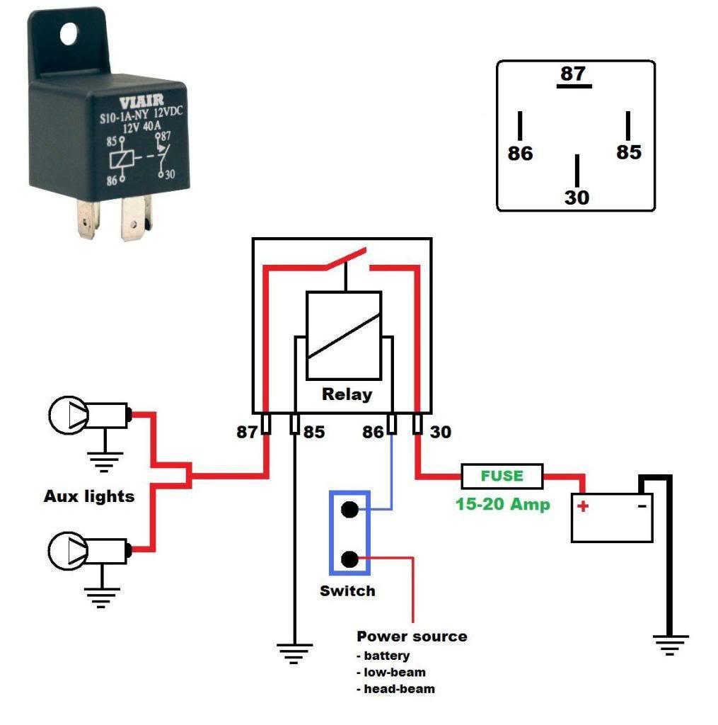 Bosch Horn Relay Wiring Diagram - Wiring Diagram