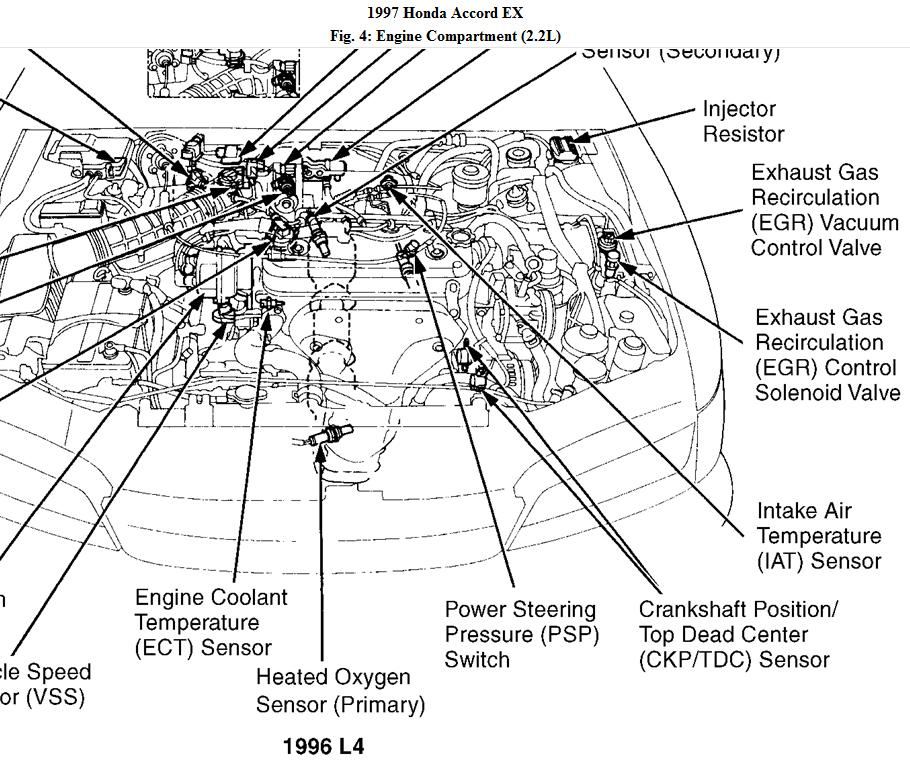 98 honda accord engine diagram  description wiring diagrams